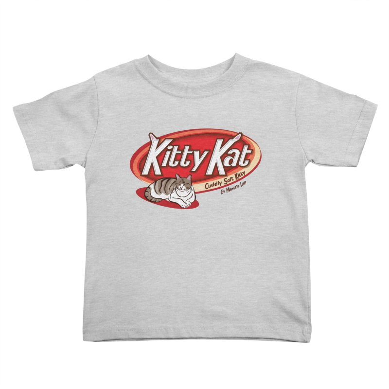 Kitty Kat Kids Toddler T-Shirt by immerzion's t-shirt designs