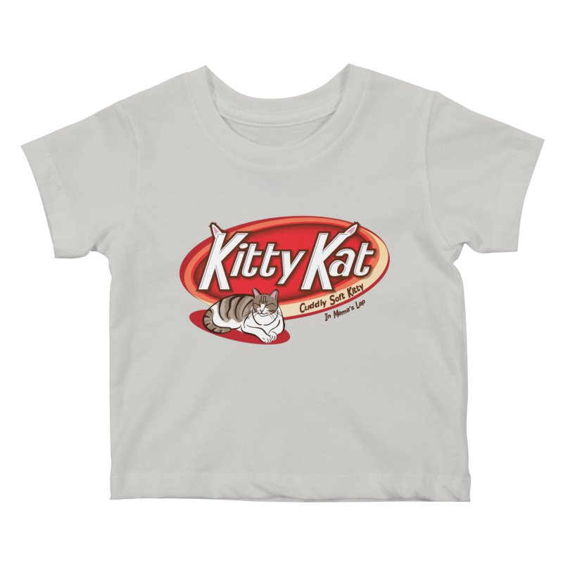 Kitty Kat Kids Baby T-Shirt by immerzion's t-shirt designs