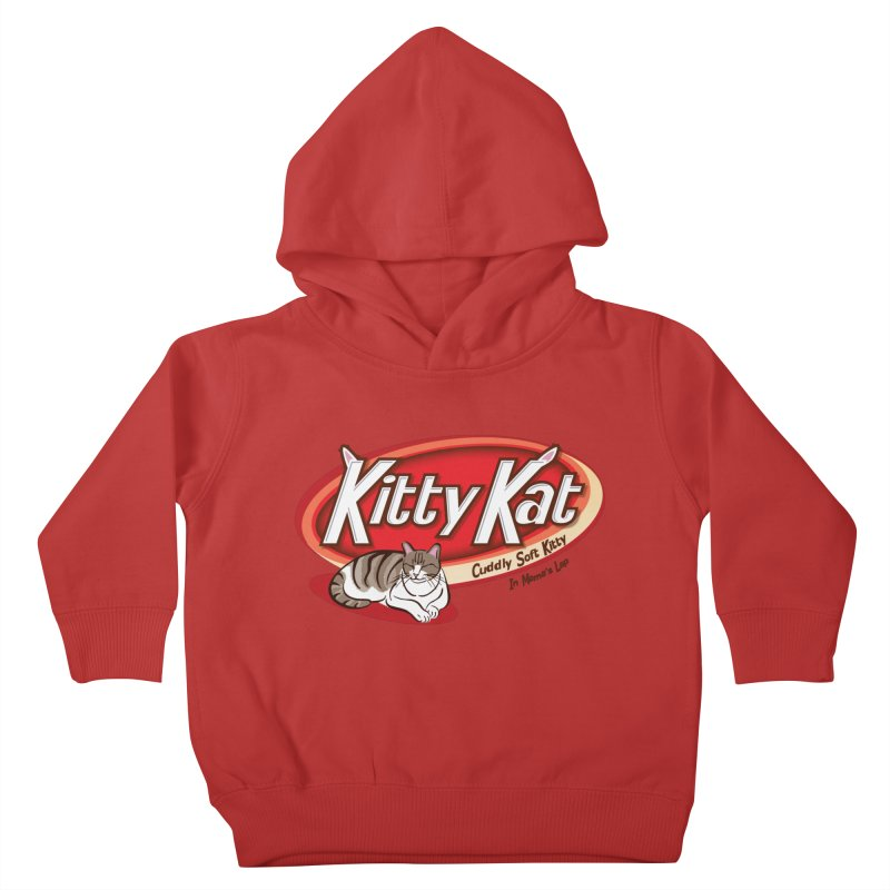 Kitty Kat Kids Toddler Pullover Hoody by immerzion's t-shirt designs