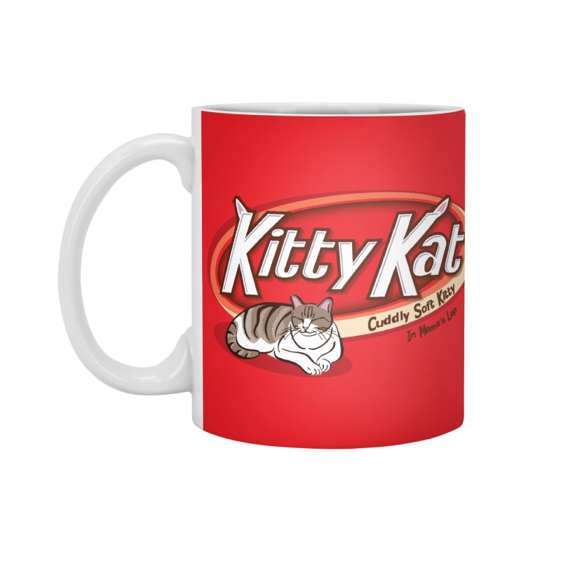 Kitty Kat Accessories Mug by immerzion's t-shirt designs
