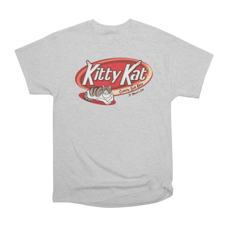 Kitty Kat Men's T-Shirt by immerzion's t-shirt designs