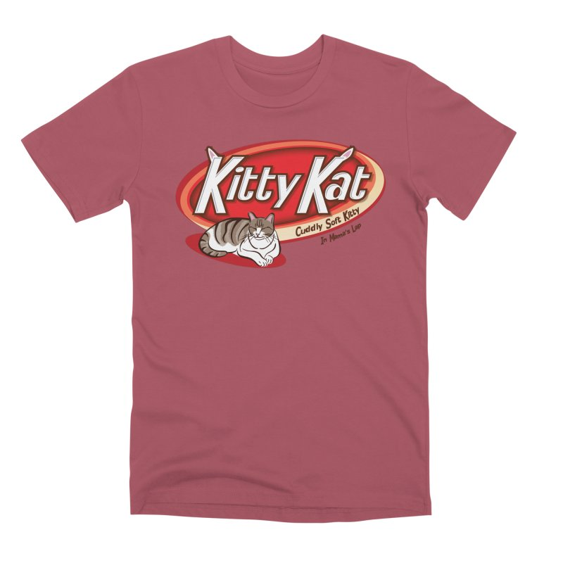 Kitty Kat Men's Premium T-Shirt by immerzion's t-shirt designs