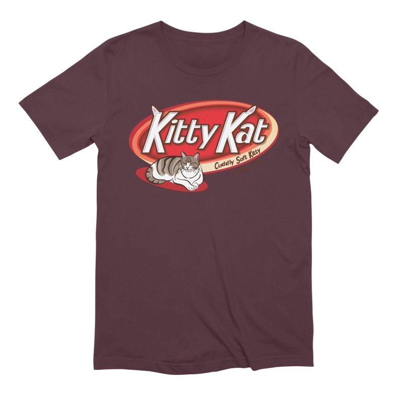 Kitty Kat Men's Extra Soft T-Shirt by immerzion's t-shirt designs