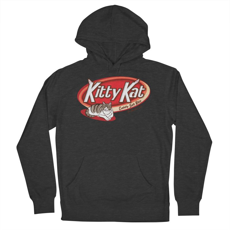 Kitty Kat Women's French Terry Pullover Hoody by immerzion's t-shirt designs