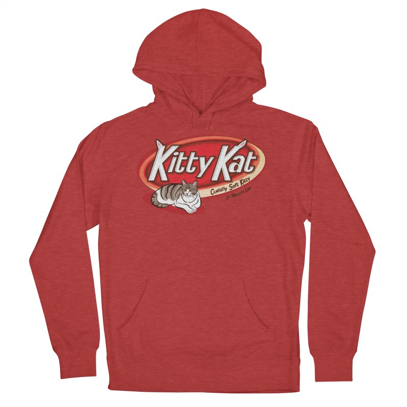 Kitty Kat Men's French Terry Pullover Hoody by immerzion's t-shirt designs