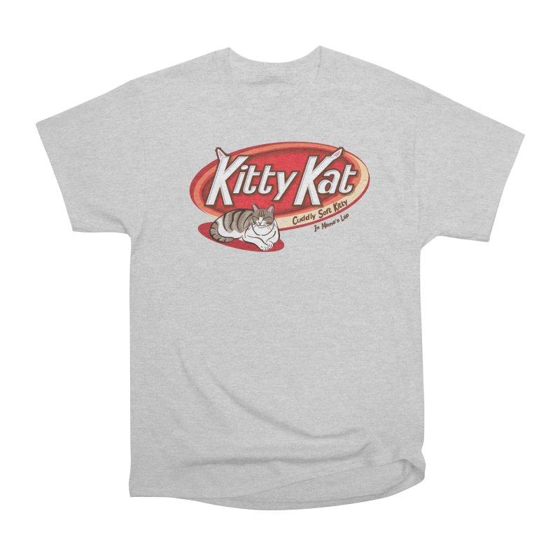 Kitty Kat Men's Heavyweight T-Shirt by immerzion's t-shirt designs