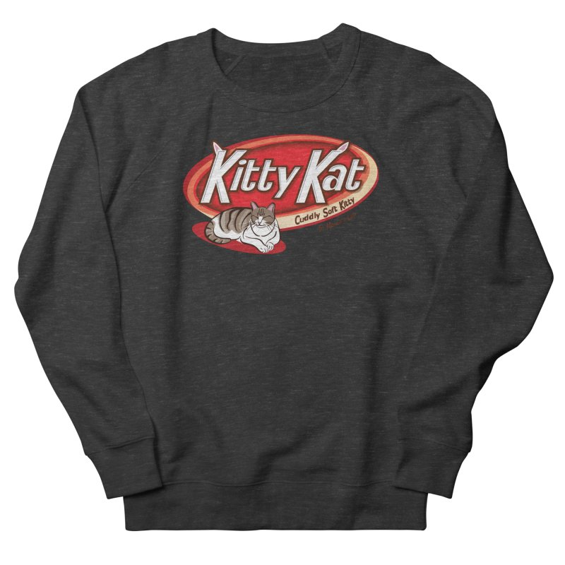Kitty Kat Women's French Terry Sweatshirt by immerzion's t-shirt designs