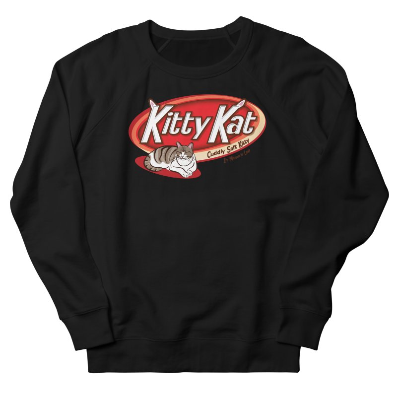 Kitty Kat Women's French Terry Sweatshirt by immerzion's t-shirt designs