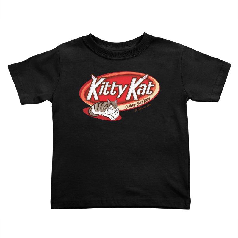 Kitty Kat Kids Toddler T-Shirt by immerzion's t-shirt designs