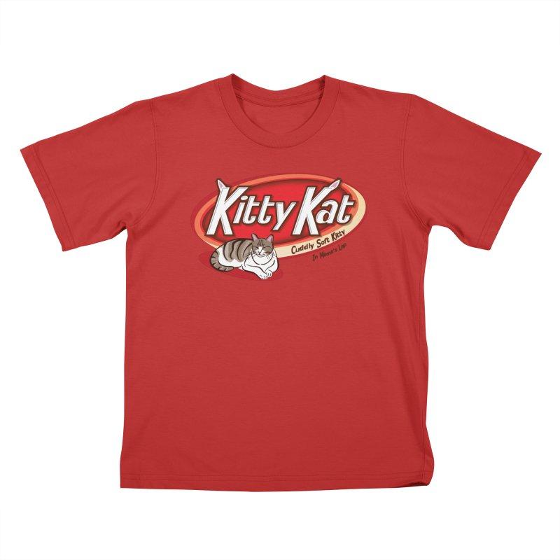 Kitty Kat Kids T-Shirt by immerzion's t-shirt designs