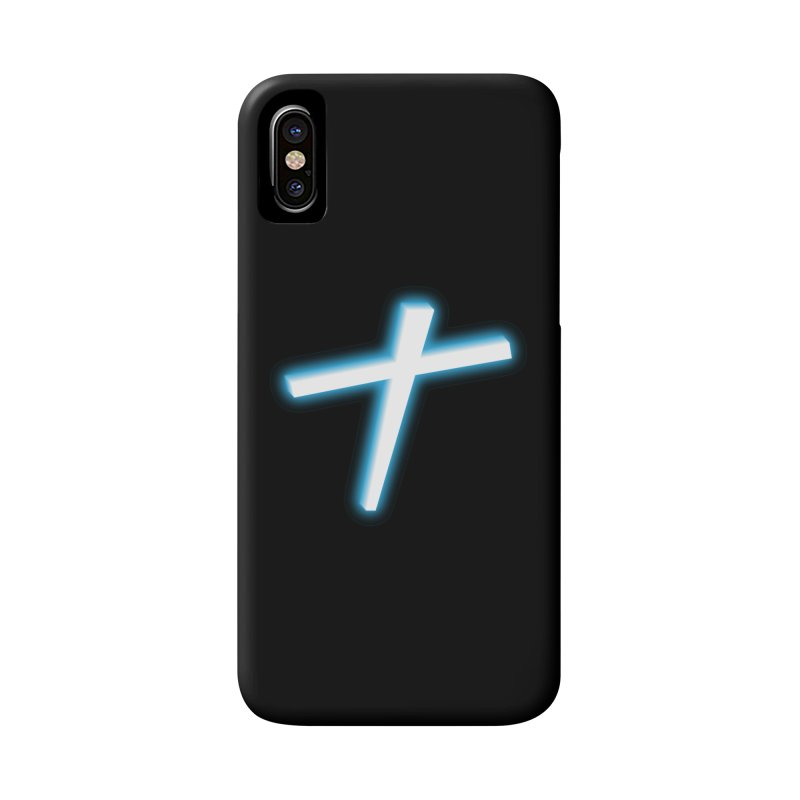 White Cross Accessories Phone Case by immerzion's t-shirt designs