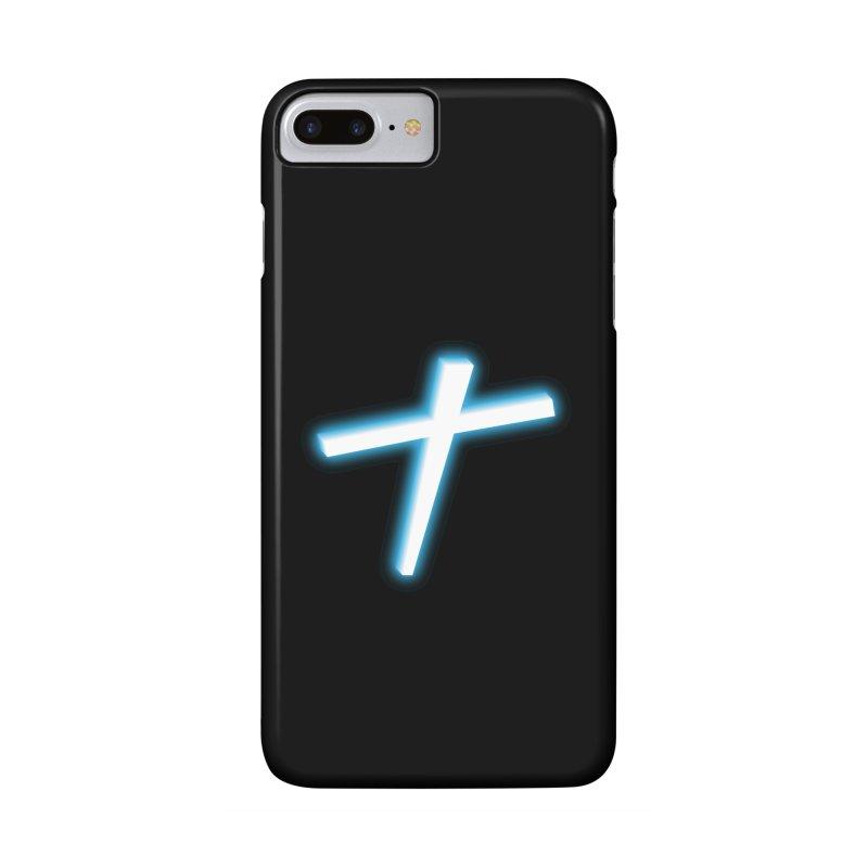 White Cross Accessories Phone Case by immerzion's t-shirt designs