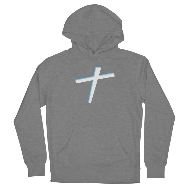 White Cross Women's Pullover Hoody by immerzion's t-shirt designs