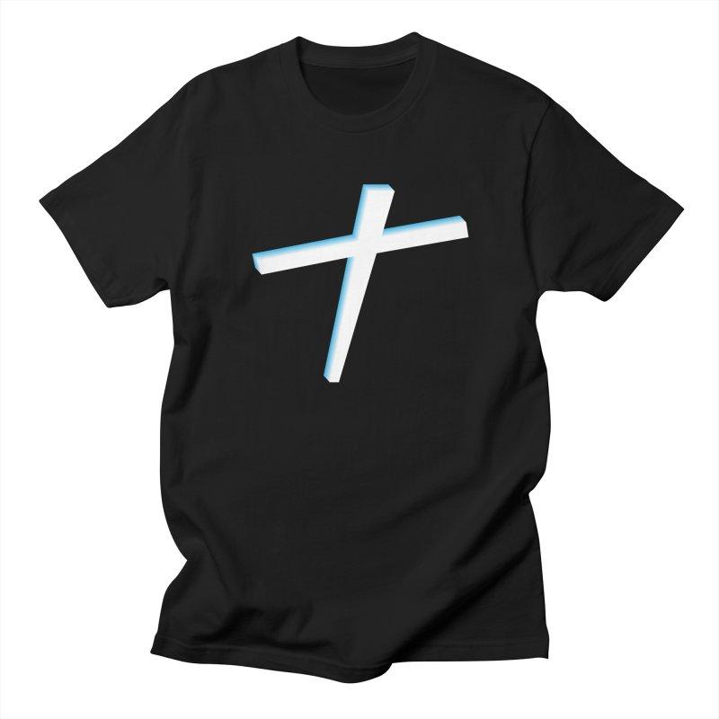 White Cross Women's Regular Unisex T-Shirt by immerzion's t-shirt designs