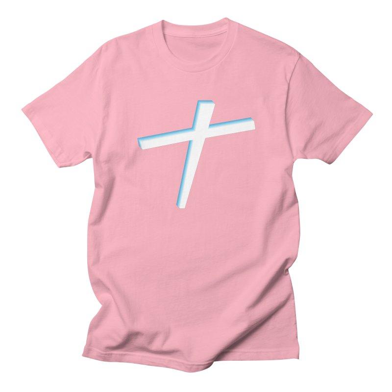 White Cross Women's Unisex T-Shirt by immerzion's t-shirt designs