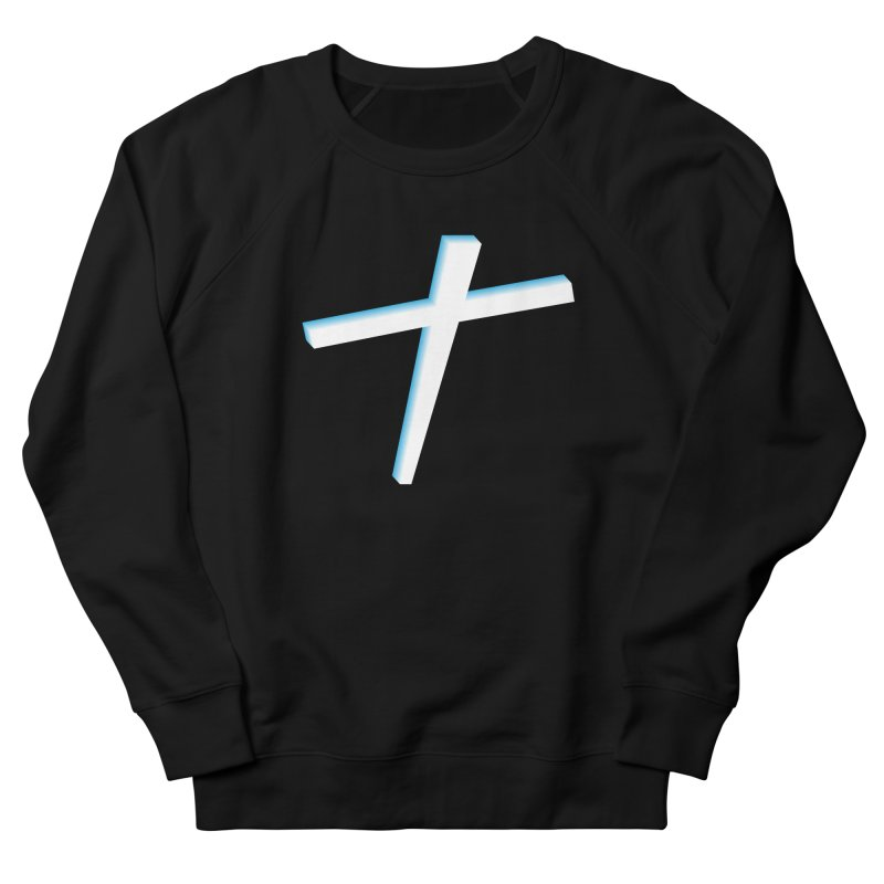 White Cross Women's Sweatshirt by immerzion's t-shirt designs