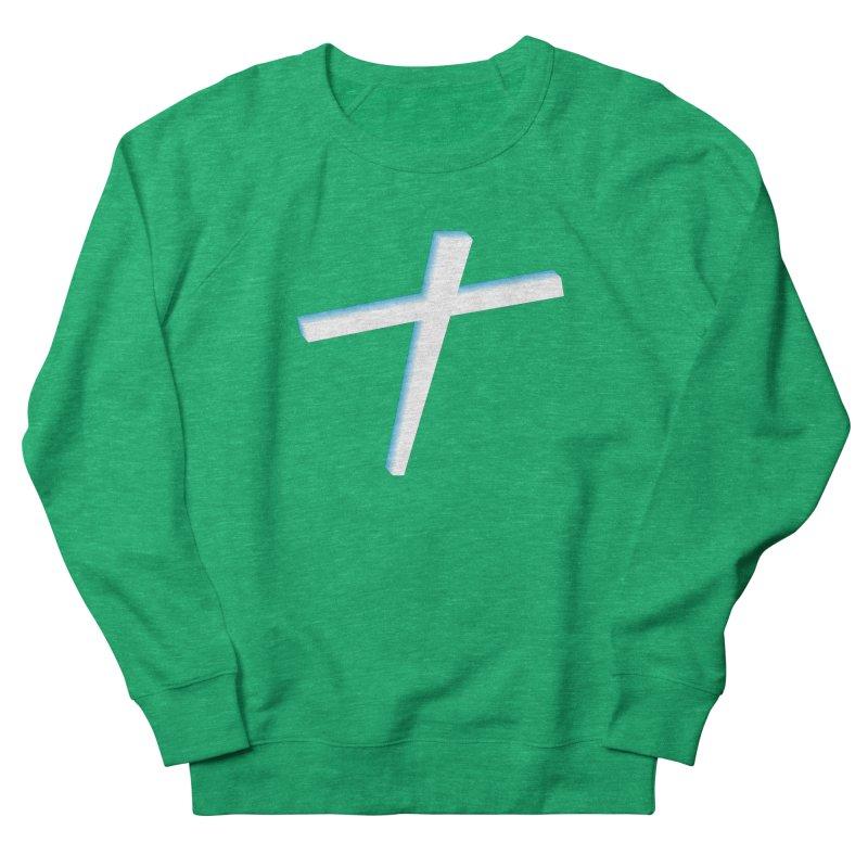 White Cross Men's Sweatshirt by immerzion's t-shirt designs