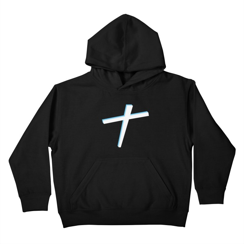 White Cross Kids Pullover Hoody by immerzion's t-shirt designs