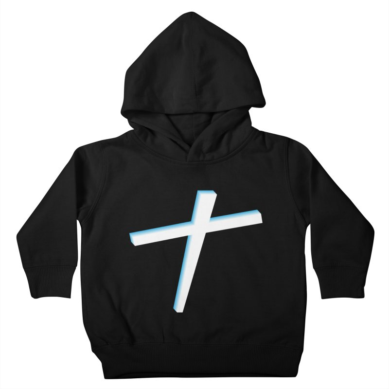 White Cross Kids Toddler Pullover Hoody by immerzion's t-shirt designs