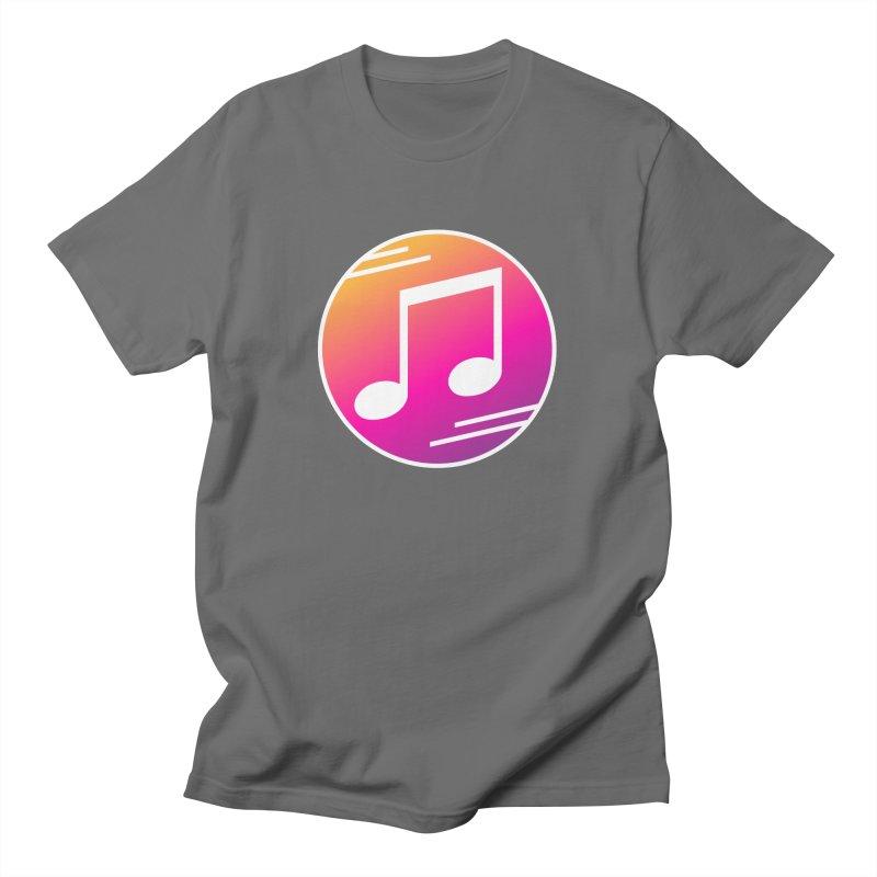 Crowd Hero Logo Men's T-Shirt by immerzion's t-shirt designs