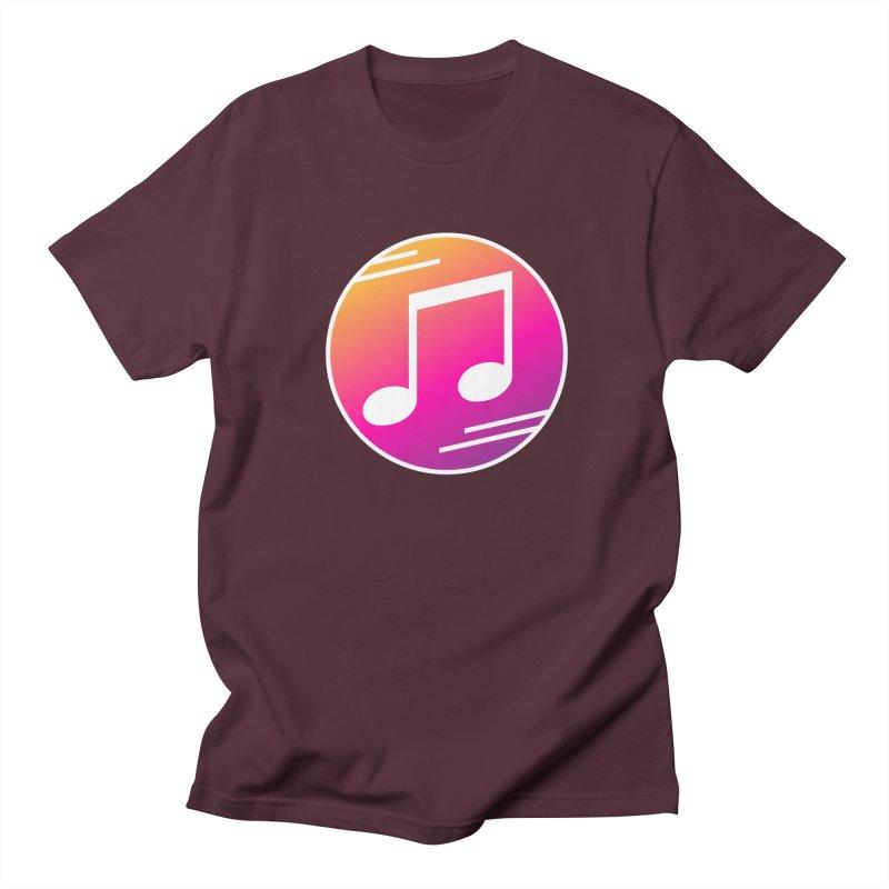 Crowd Hero Logo Men's Regular T-Shirt by immerzion's t-shirt designs