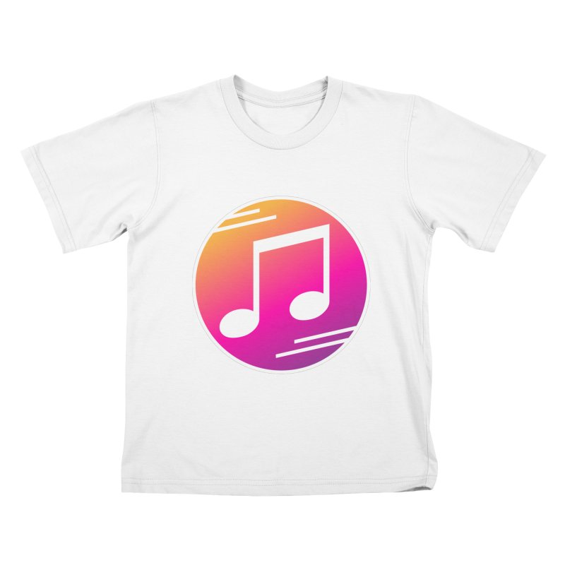 Crowd Hero Logo Kids T-Shirt by immerzion's t-shirt designs