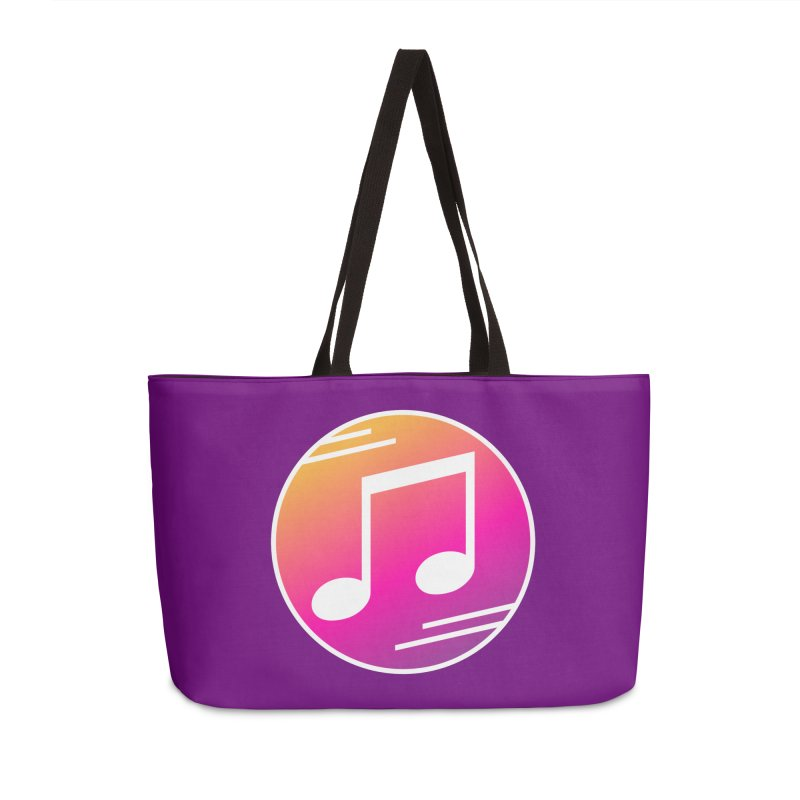 Crowd Hero Logo Accessories Weekender Bag Bag by immerzion's t-shirt designs