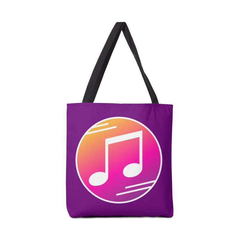 Crowd Hero Logo Accessories Bag by immerzion's t-shirt designs