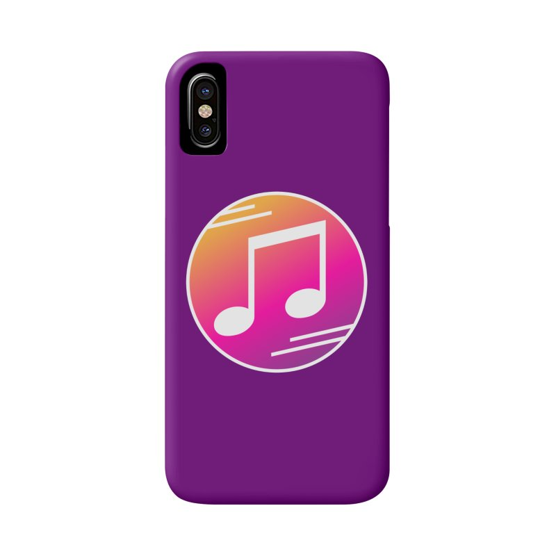 Crowd Hero Logo Accessories Phone Case by immerzion's t-shirt designs