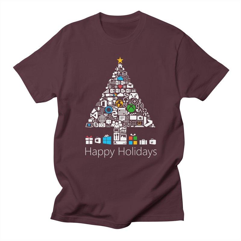 Microsoft Christmas Men's T-Shirt by immerzion's t-shirt designs