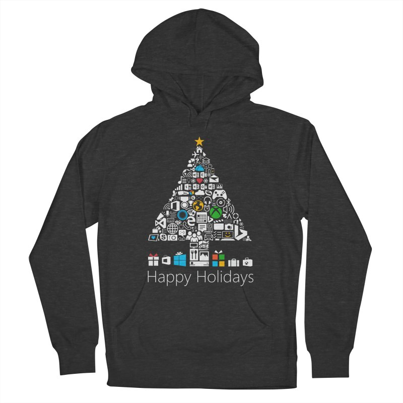 Microsoft Christmas Men's French Terry Pullover Hoody by immerzion's t-shirt designs