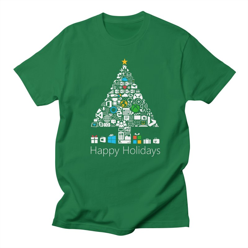 Microsoft Christmas Women's Regular Unisex T-Shirt by immerzion's t-shirt designs