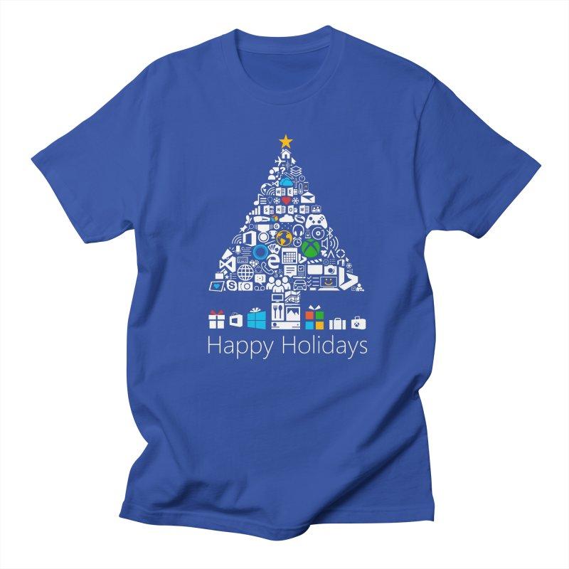 Microsoft Christmas Women's Regular Unisex T-Shirt by immerzion's t-shirt designs