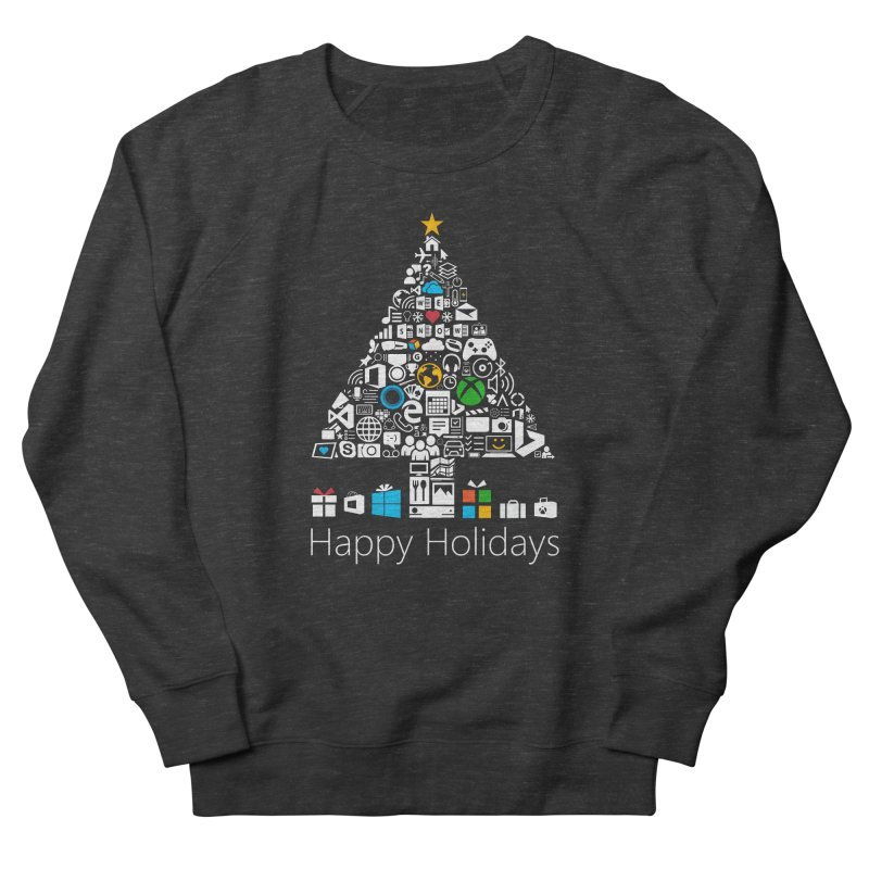 Microsoft Christmas Men's French Terry Sweatshirt by immerzion's t-shirt designs