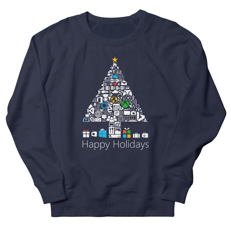 Microsoft Christmas Men's French Terry Sweatshirt by immerzion's t-shirt designs