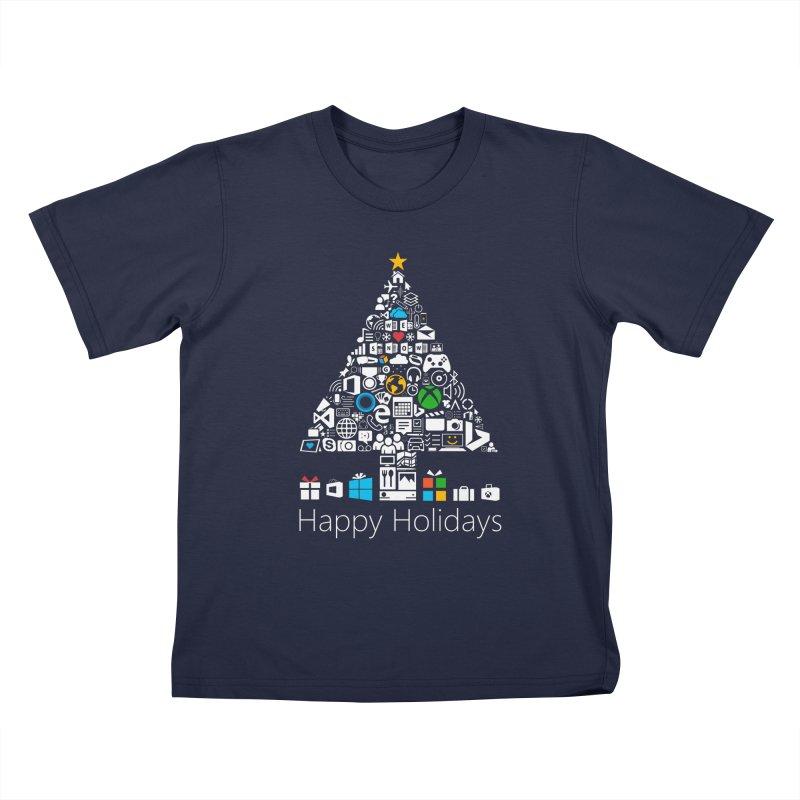 Microsoft Christmas Kids T-shirt by immerzion's t-shirt designs