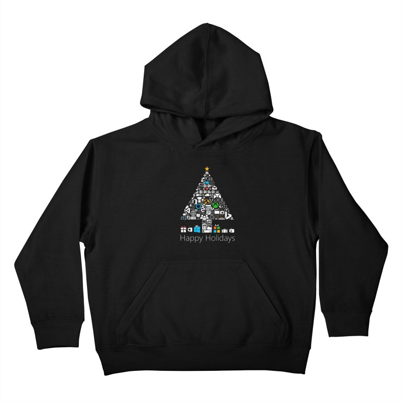 Microsoft Christmas Kids Pullover Hoody by immerzion's t-shirt designs