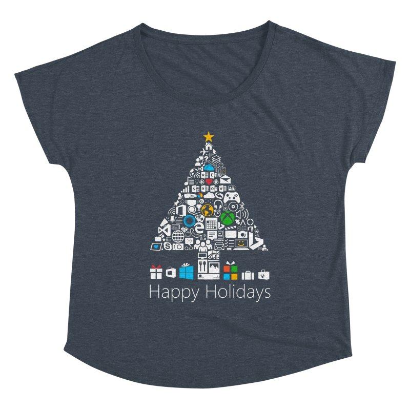 Microsoft Christmas Women's Scoop Neck by immerzion's t-shirt designs