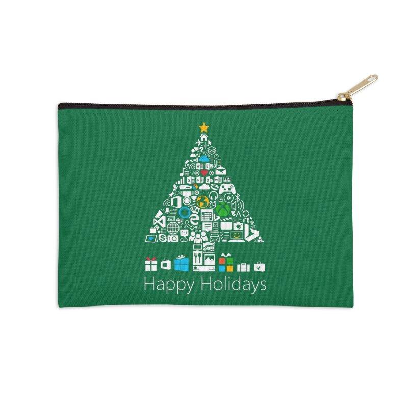 Microsoft Christmas Accessories Zip Pouch by immerzion's t-shirt designs