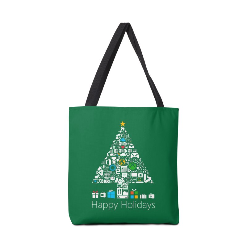 Microsoft Christmas Accessories Tote Bag Bag by immerzion's t-shirt designs