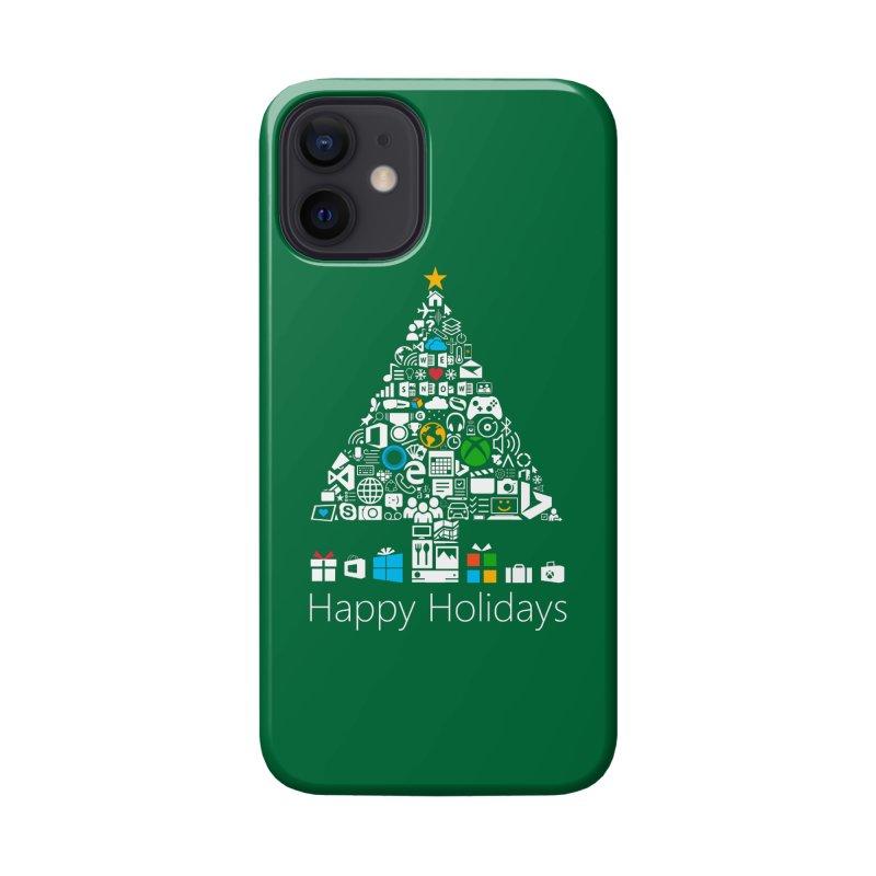 Microsoft Christmas Accessories Phone Case by immerzion's t-shirt designs