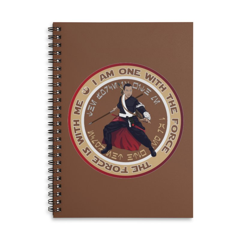 I am one with The Force Accessories Notebook by immerzion's t-shirt designs