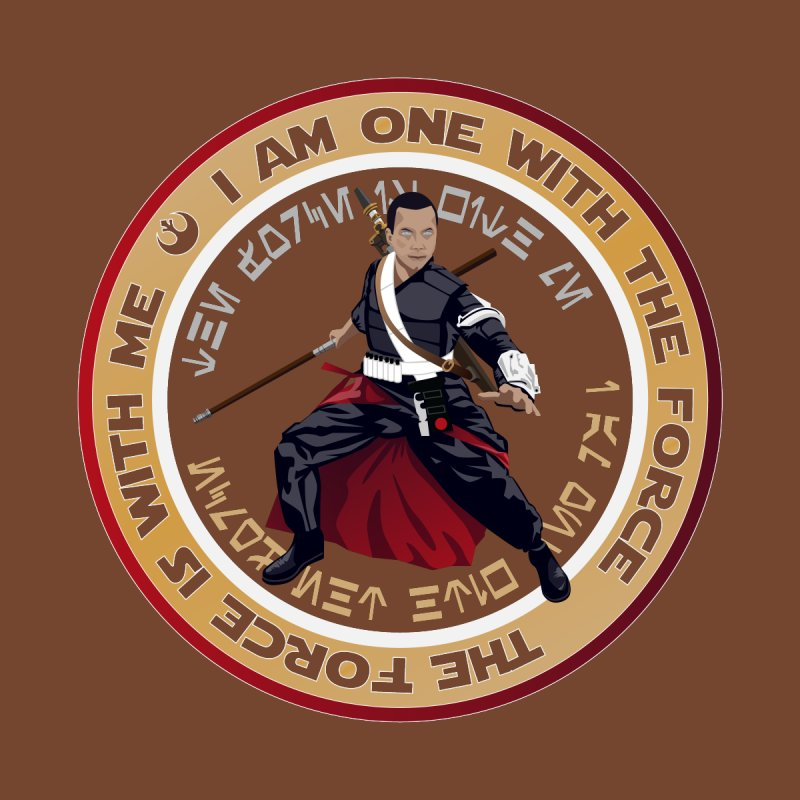 I am one with The Force by immerzion's t-shirt designs