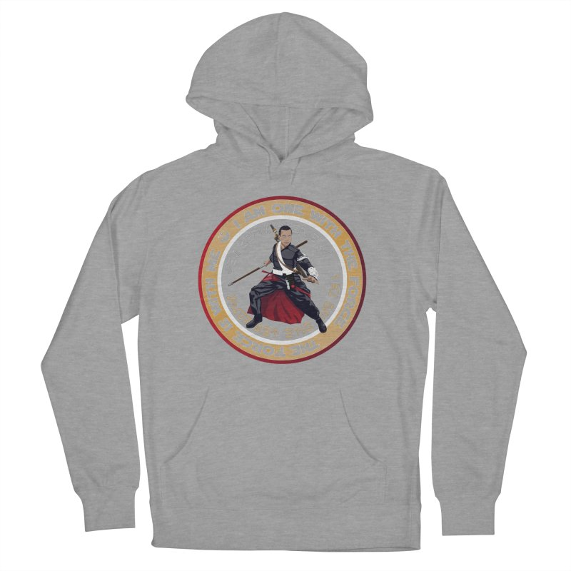 I am one with The Force Men's French Terry Pullover Hoody by immerzion's t-shirt designs