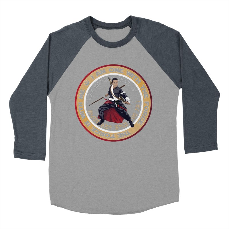 I am one with The Force Women's Baseball Triblend T-Shirt by immerzion's t-shirt designs