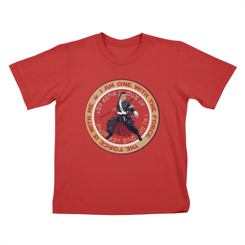 I am one with The Force Kids T-Shirt by immerzion's t-shirt designs