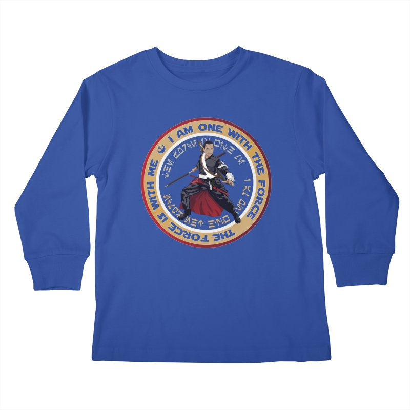 I am one with The Force Kids Longsleeve T-Shirt by immerzion's t-shirt designs