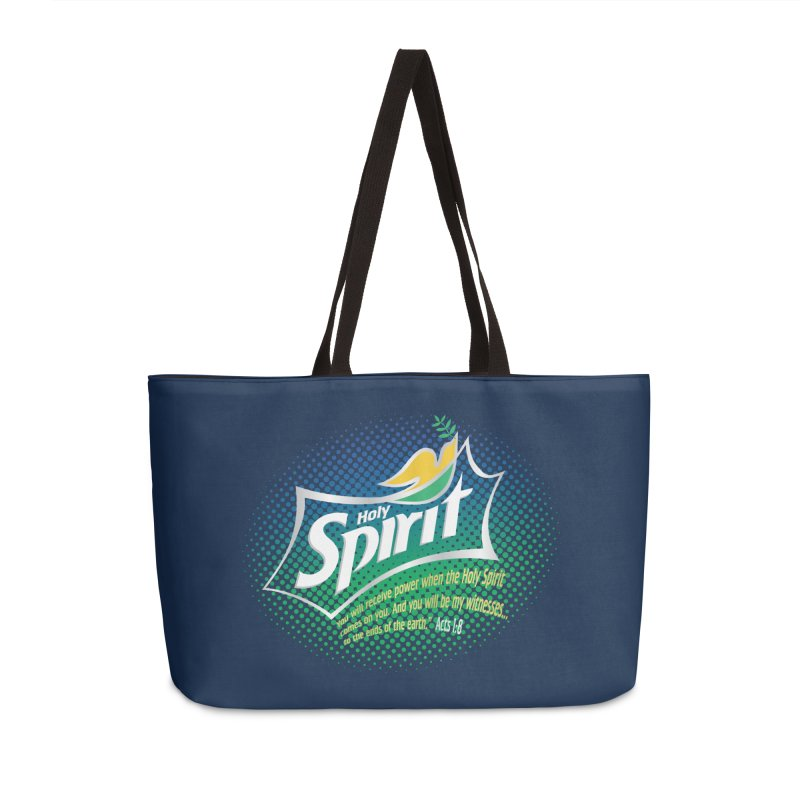 Holy Sprite Accessories Weekender Bag Bag by immerzion's t-shirt designs