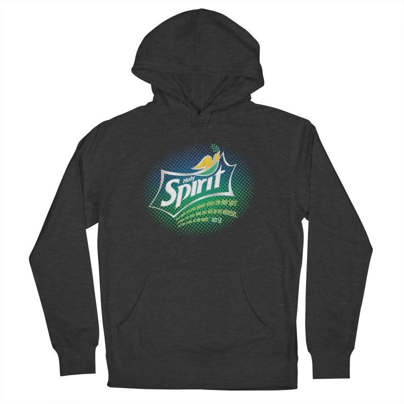 Holy Sprite Men's French Terry Pullover Hoody by immerzion's t-shirt designs