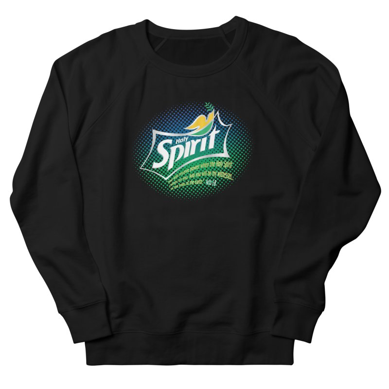 Holy Sprite Women's Sweatshirt by immerzion's t-shirt designs